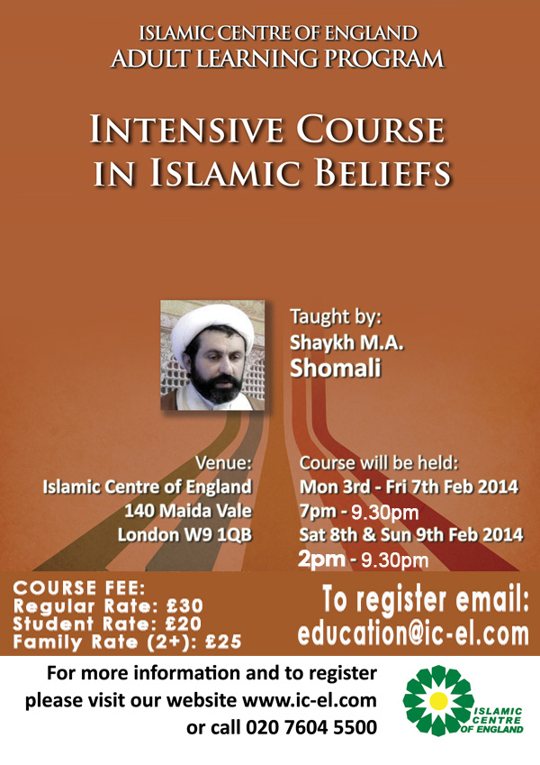 Intensive course in ICEL, Feb 2014